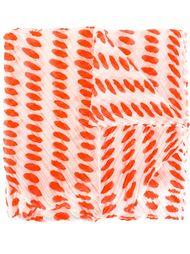 плиссированный шарф с пятнистым принтом Pleats Please By Issey Miyake