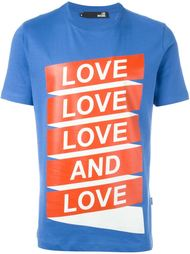 love print T-shirt Love Moschino