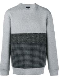 contrast panel sweatshirt Lanvin