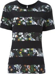 футболка с цветочным принтом Markus Lupfer