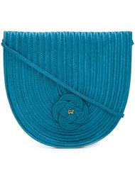 woven rope shoulder bag Nina Ricci Vintage