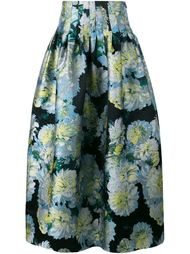 full floral skirt Adam Lippes