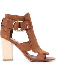 buckled block heel sandals Derek Lam 10 Crosby