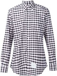 checked shirt Thom Browne
