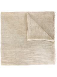 frayed scarf Eleventy