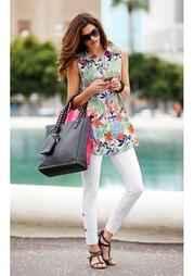 Удлиненная блузка CHILLYTIME