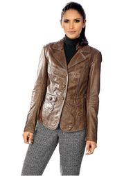 Кожаная куртка Ashley Brooke