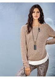 """Пуловер """"2 в 1"""" Rick Cardona"""