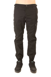 Штаны прямые Skills Chino Pockets Strap Black
