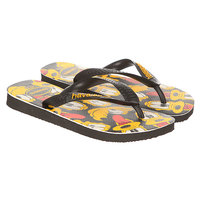 Вьетнамки детские Havaianas Disney Stylish Black/Multi