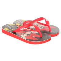 Вьетнамки детские Havaianas Disney Stylish Red/Black/Multi