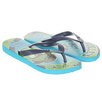 Вьетнамки детские Havaianas Mosnters Inc Blue/Multi