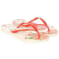 Вьетнамки детские Havaianas Slim Princess White/Multi
