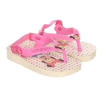 Сандалии детские Havaianas Mickey Minnie Grey/Pink