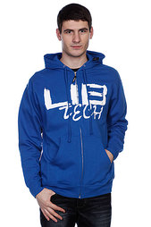 Толстовка Lib Tech Ink Brush Lib Hoodie Blue