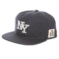 Бейсболка с прямым козырьком Alife Nueva York Snapback Peacoat