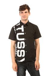 Рубашка Stussy Shout Out Shirt Black