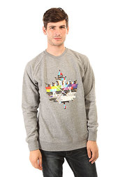 Толстовка свитшот K1X Glitch Logo Crewneck Grey