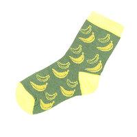 Носки средние детские Запорожец Банан Зеленый