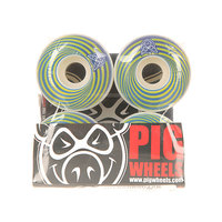Колеса для скейтборда для скейтборда Pig Vertigo Blue 100A 55 mm