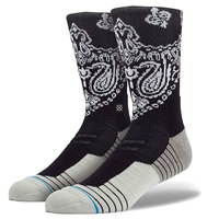 Носки средние Stance Blue Athletic Fusion 3fold Crew Black