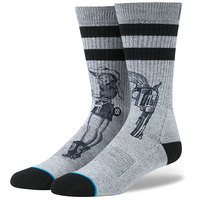 Носки средние Stance Foundation Bushleague Grey