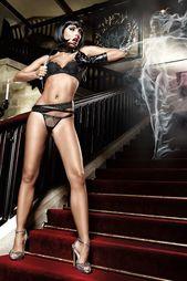 Стринги Baci-Lingerie Black Label Collection
