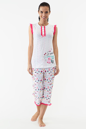 Пижама с капри Relax Mode