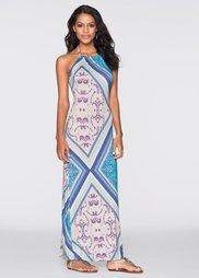 Летнее платье (синий с рисунком) Bonprix