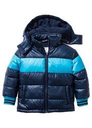 Куртка на ватной подкладке, Размеры  80/86-128/134 (темно-зеленый/темно-синий) Bonprix