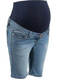 Для будущих мам: джинсы (синий «потертый») Bonprix