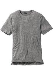 Длинная футболка (белый) Bonprix