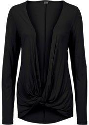Удлиненная футболка (темно-баклажановый) Bonprix