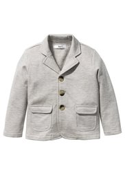 Трикотажный пиджак, Размеры  80/86-128/134 (антрацитовый меланж) Bonprix