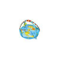 Развивающий коврик Голубой океан, 85х85х45 см, LA-DI-DA