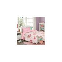 """Комплект постельного белья """"Зайка на розовом"""" (50*70) Мона Лиза"""