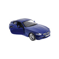 Машина BMW Z4 M COUPE металл., 1:32, синяя, Bburago