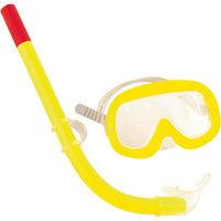 Набор для ныряния (маска+трубка) Sun детский,  Bestway, желтый