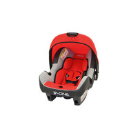 Автокресло BEONE SP 0-13 кг, AGORA CARMIN LUXE SHADOW/GRIS CLAIR серый/красный/светло-серый Nania