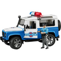 Внедорожник Land Rover Defender Полиция с фигуркой, Bruder
