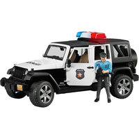 Внедорожник Jeep Wrangler Полиция с фигуркой, Bruder