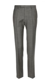 Шерстяные брюки с классической посадкой HUGO BOSS Black Label