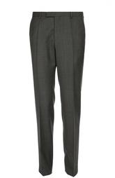 Классические брюки из фактурной шерсти HUGO BOSS Black Label