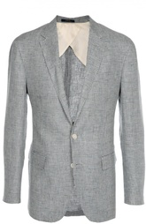 Однобортный пиджак с узором houndstooth Ralph Lauren Clothing