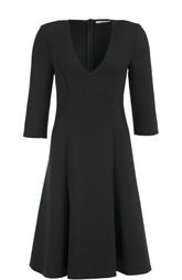 Приталенное платье-миди с V-образным вырезом Dorothee Schumacher
