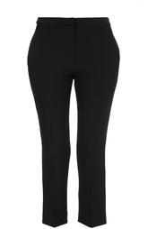 Укроченные брюки с контрастными лацканами Alexander McQueen