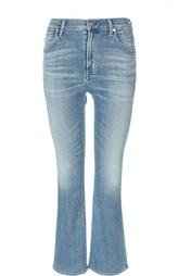 Укороченные расклешенные джинсы с завышенной талией Citizens Of Humanity