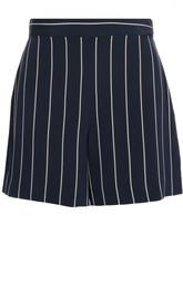 Мини-шорты в полоску с завышенной талией Polo Ralph Lauren