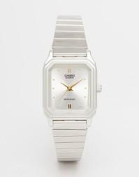 Часы в винтажном стиле Casio LQ 400D 7AEF - Серебряный