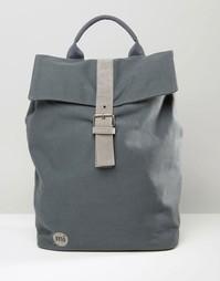 Серый холщовый рюкзак Mi-Pac - Серый